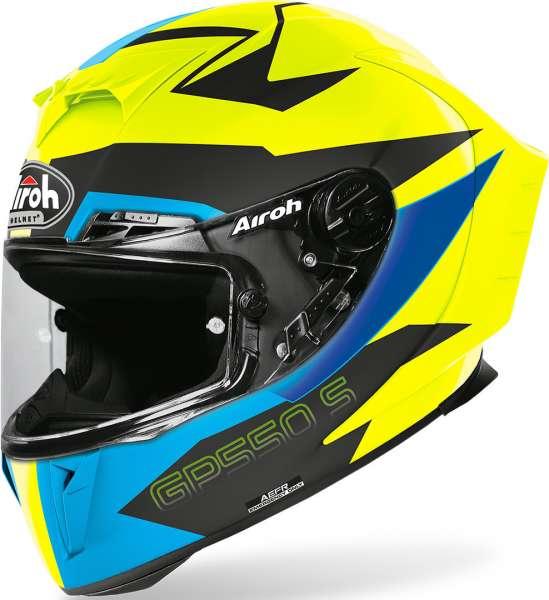 Airoh GP 550 S Vektor Blue matt Motorradhelm