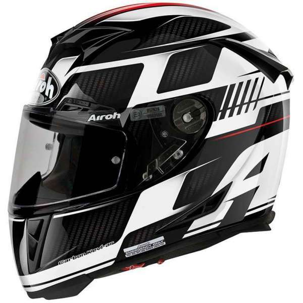 Airoh GP500 First Black Carbon Helm