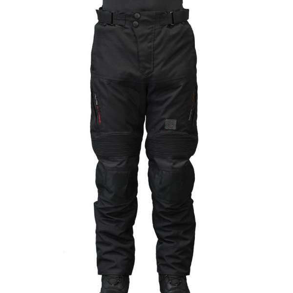 "Motorradhose ""Touring black/red"""