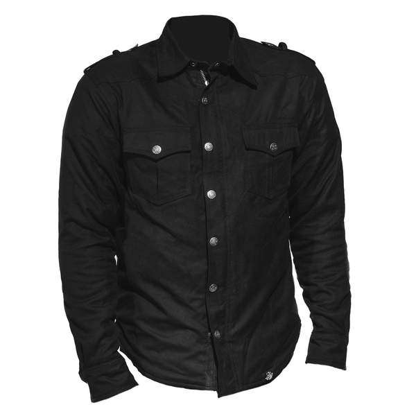 Motorradhemd Flanell Black Limited Edition Bobberbrothers