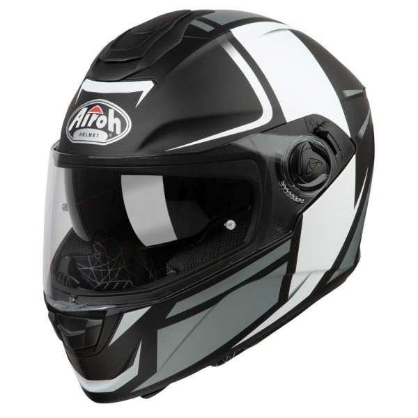 Airoh ST 301 Wonder Helm schwarz-weiß
