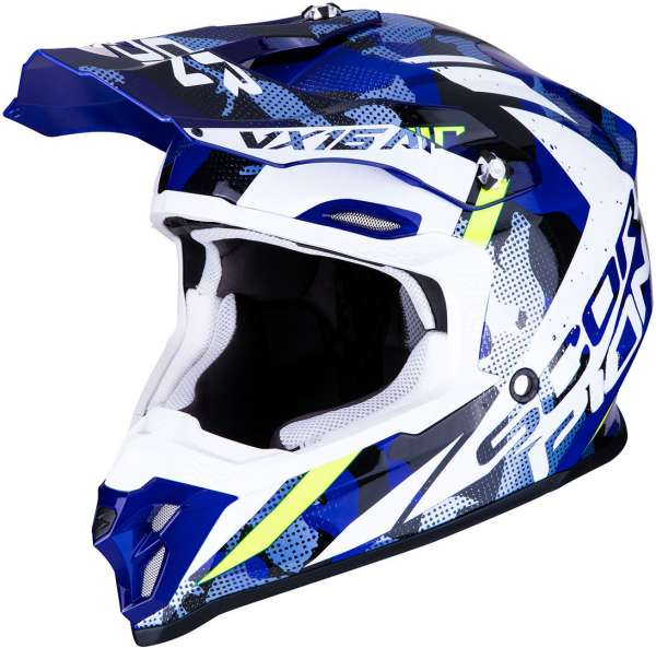 Scorpion VX-16 Air Waka Motocross Helm