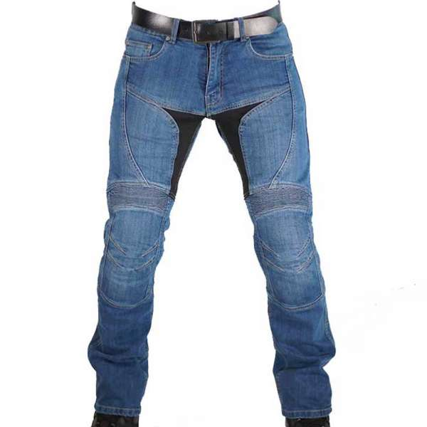 """Billy Jeans"" blue men Motorradhose"