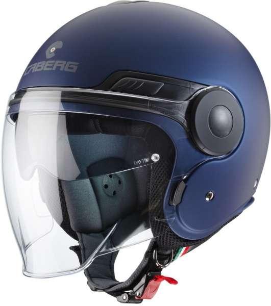 Caberg Uptown matt blau Jethelm Yamaha
