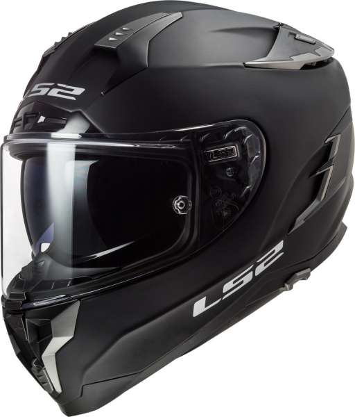 LS2 FF327 Challenger Solid matt schwarz Helm