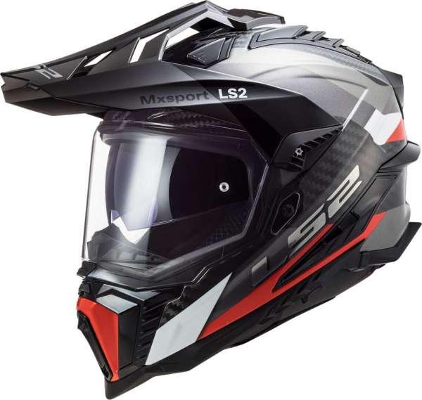 LS2 MX701 Explorer C Frontier Carbon Motocross Helm