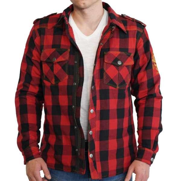 Lumberjack Motorradhemd Redwood