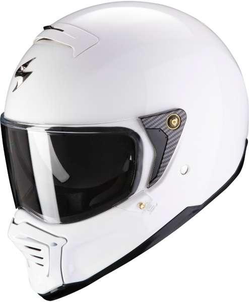 Scorpion EXO HX1 Solid weiß Helm