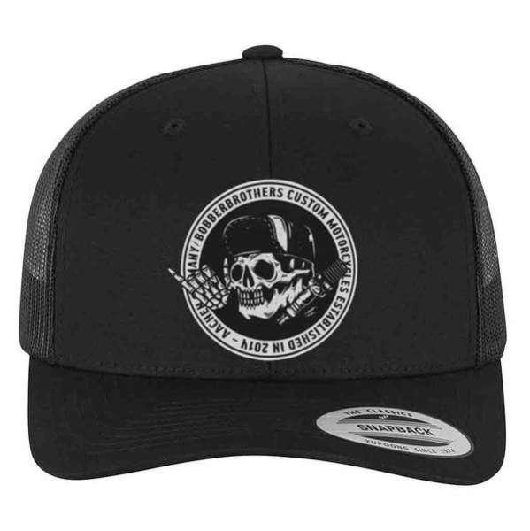 Round Logo Trucker Cap