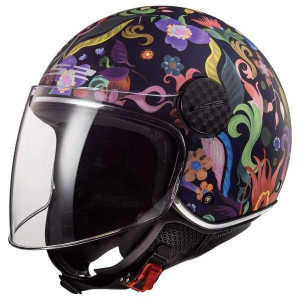 LS2 OF558 Sphere Lux Bloom Motorrad Jethelm