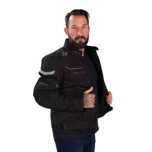 Motorradjacke Summer Breeze Mesh black