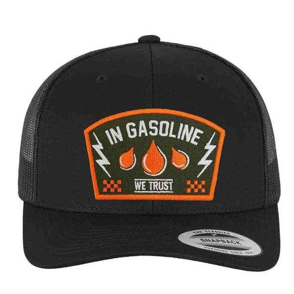 In Gasoline We Trust Trucker Cap