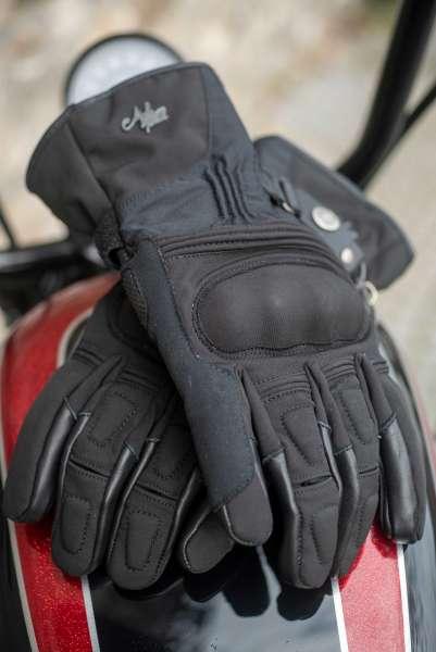 Motorradhandschuh Winter Tex