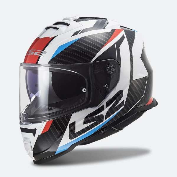 LS2 FF800 STORM RACER RED BLUE Helm