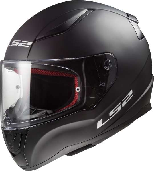 LS2 FF353 Rapid Single Mono Matt Schwarz Motorrad Helm