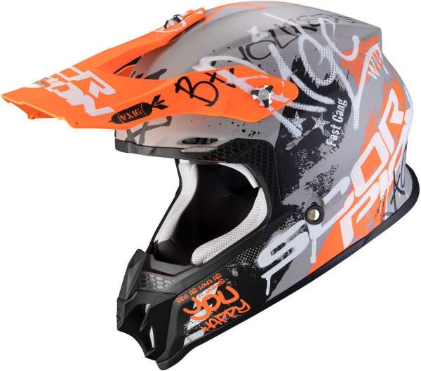 Scorpion VX-16 Air ORATIO Motocross Helm