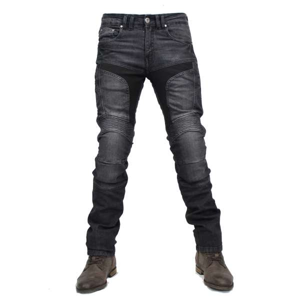Billy Jeans washed men Motorradhose
