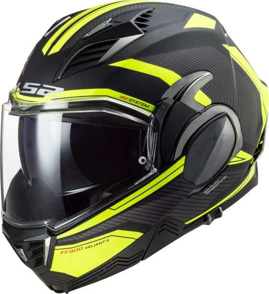 LS2 FF900 Valiant II Revo Helm Neon Gelb