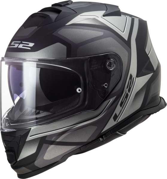 LS2 FF800 Storm Faster Helm Matt Titanium