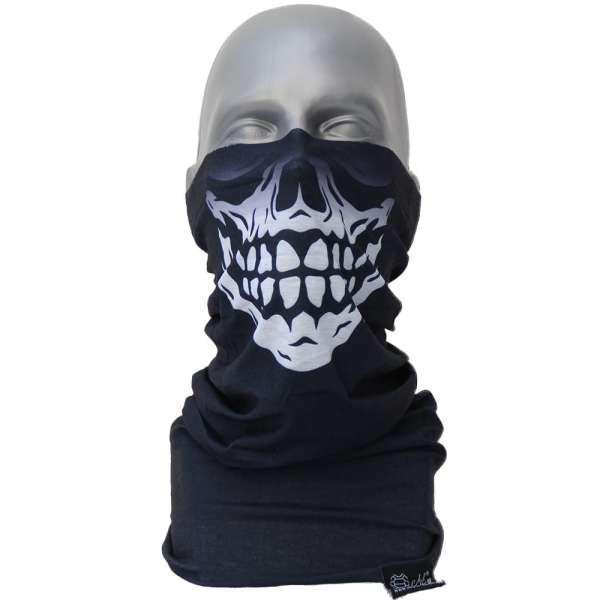 Bandana Skull black Halstuch