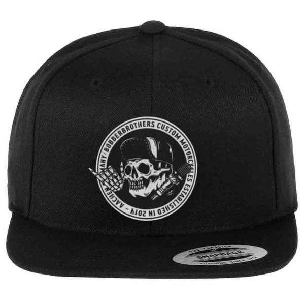 Round Logo Snapback Cap